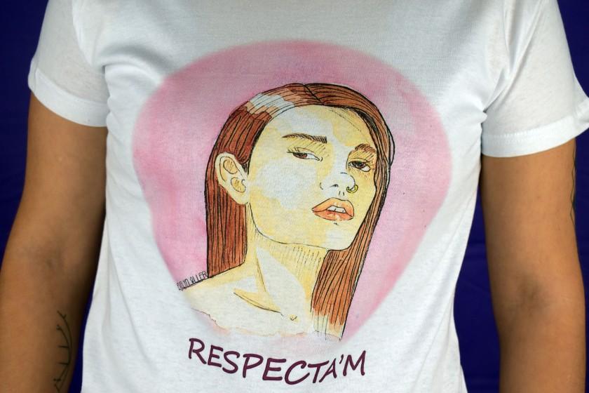 camiseta respecta'm 2