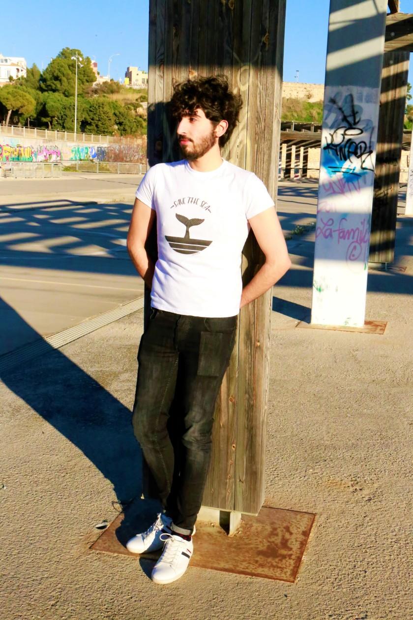 camiseta save the sea 4
