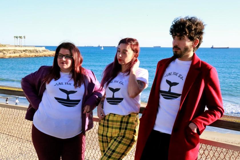 camiseta save the sea