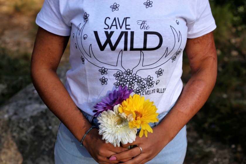 camiseta save the wild 5