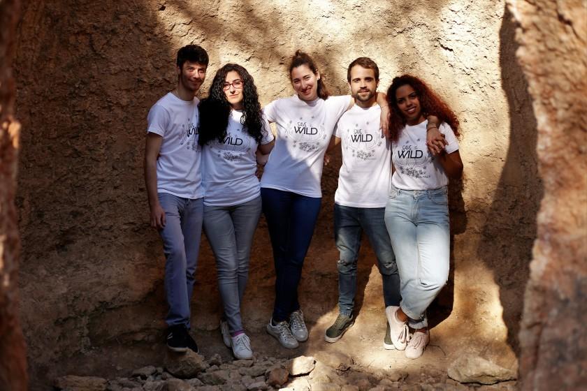 camiseta save the wild